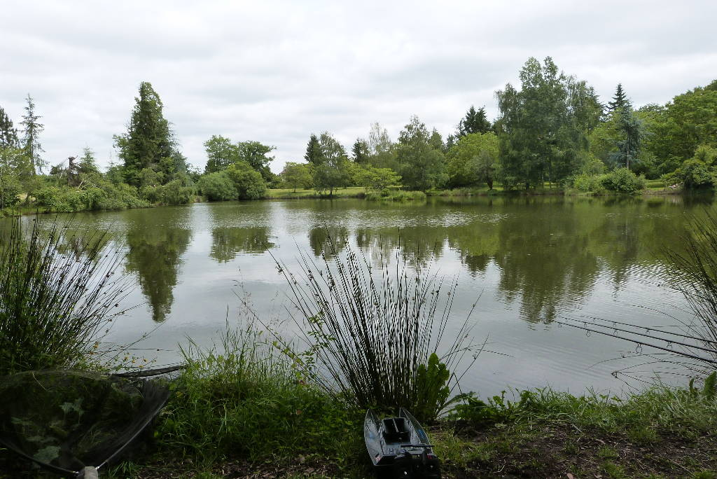 A grey day at Woodpecker - Fishing Lakes France