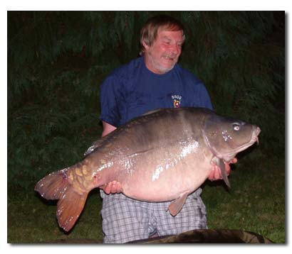 Dream fish 60lb 10oz Mirror from La Folie