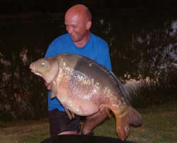 Peter's 45lb 12oz Mirror
