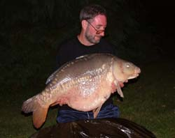 Stephen's 44lb 10oz Mirror