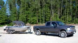 The boat and rig