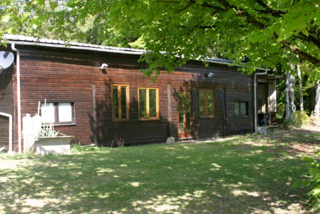 The accomodation a large oak framed barn - Fishing Holiday in France